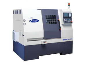 Three-axis-linkage turning-milling composite machine