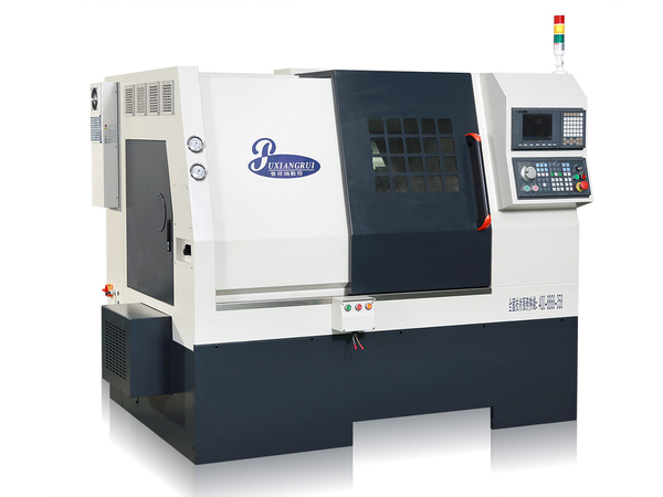 Back chip removal CNC lathe